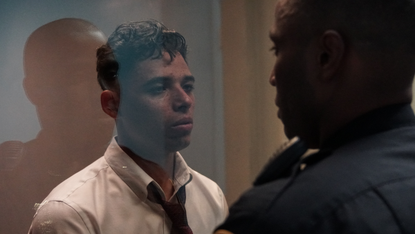 Anthony Ramos as Manny in Monsters and Men.